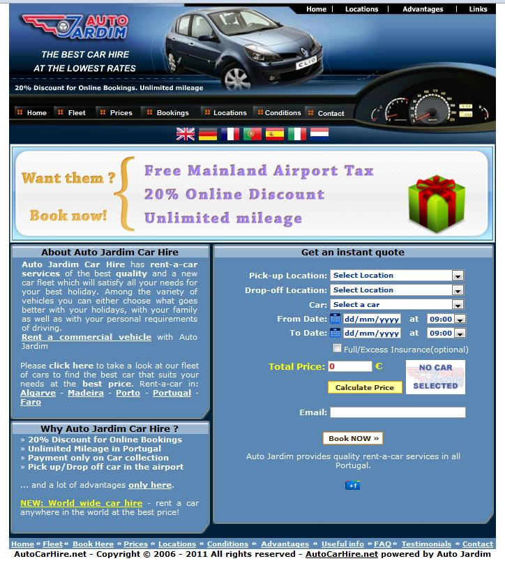 Auto Car Hire Portugal