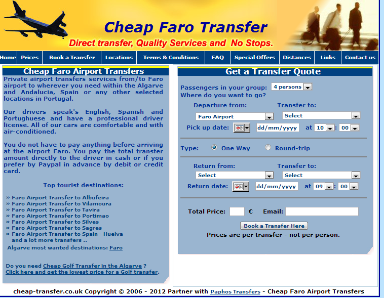 Cheap Faro Airport