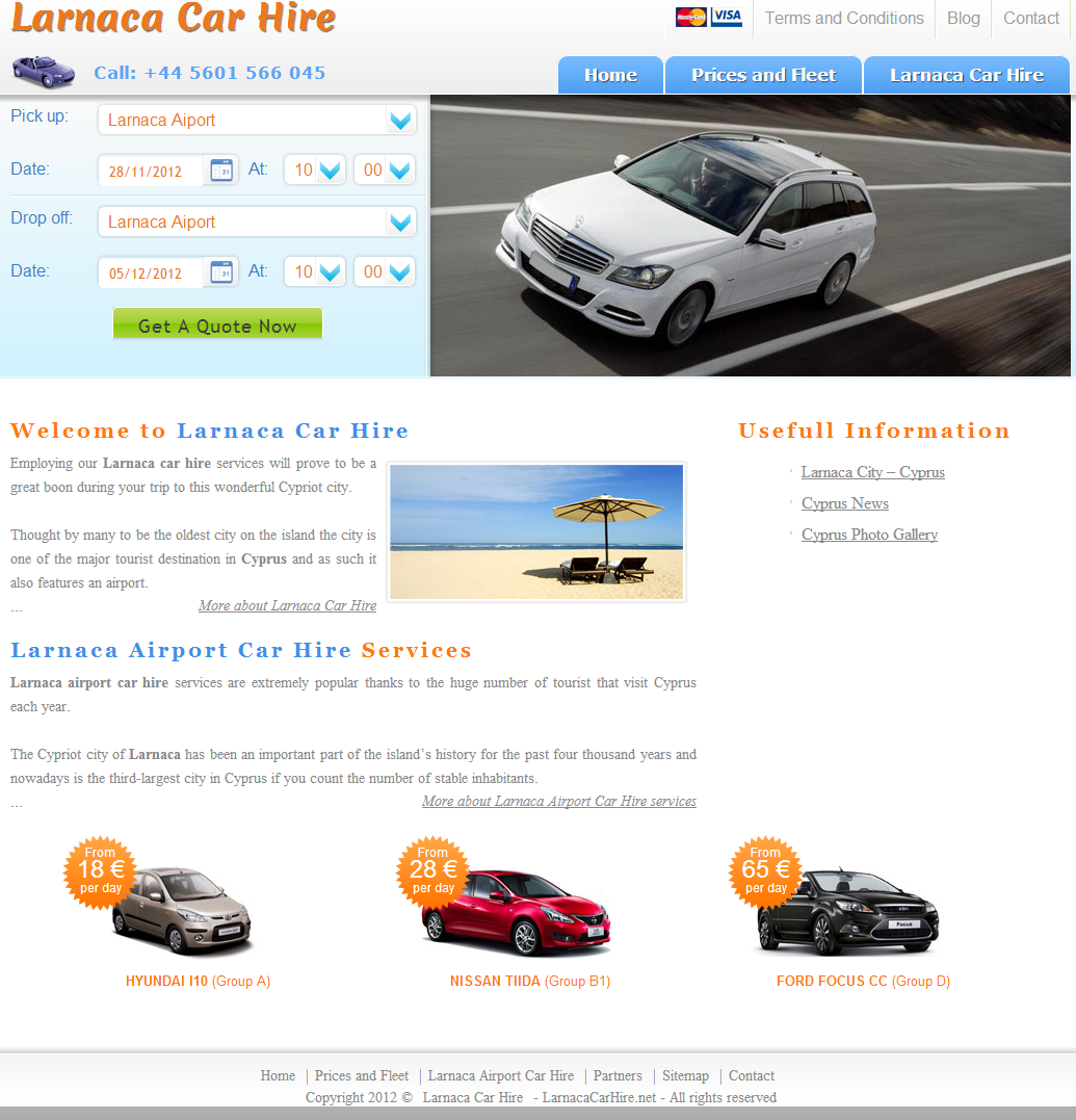 Larnaca Car Hire
