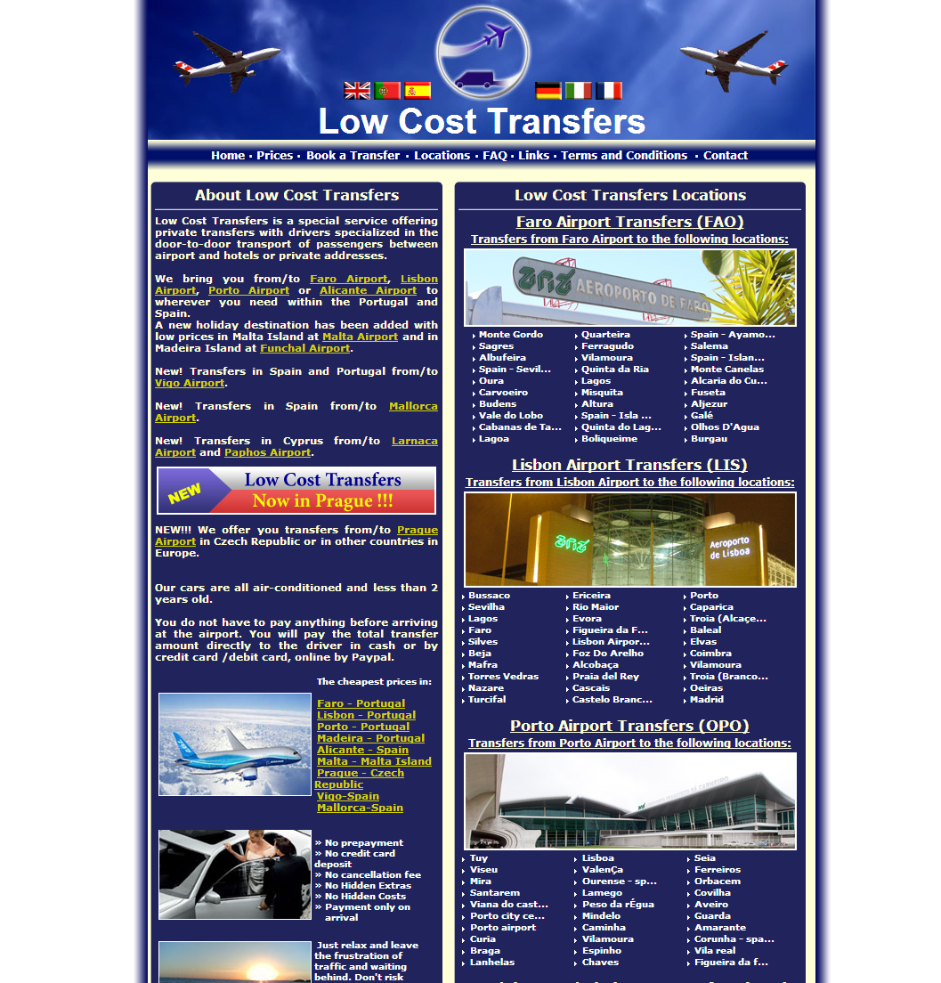 Low Cost Transfers